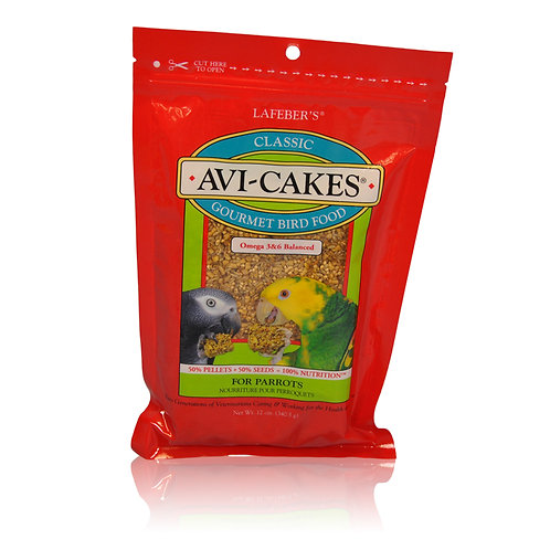 Avi-Cakes Classic Parrot, 8 oz