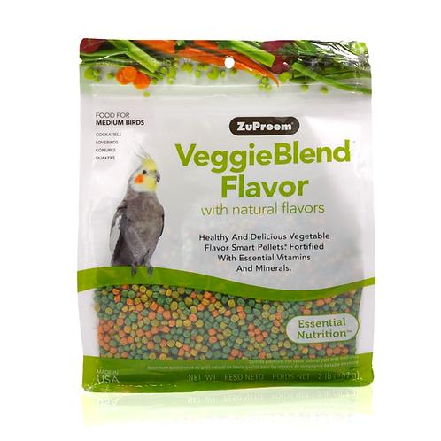 Zupreem VeggieBlend Flavor Medium Birds, 2 lb