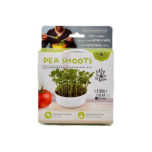 Pea Shoot Microgreen Kit