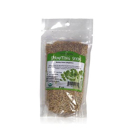 Barley Seed (Organic), 8 oz
