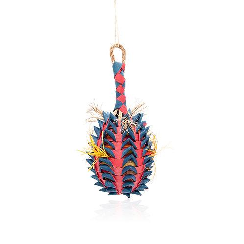 Pineapple Foraging Basket Toy, Medium