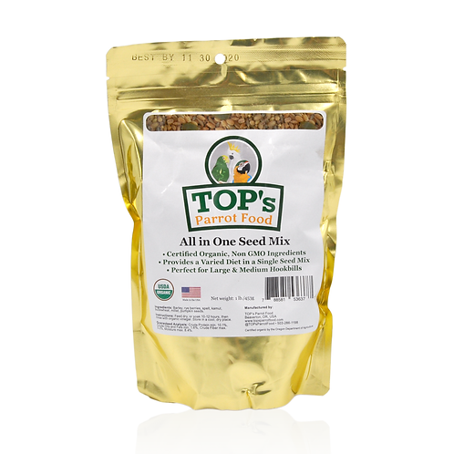TOP's Parrot Food All in One Seed Mix