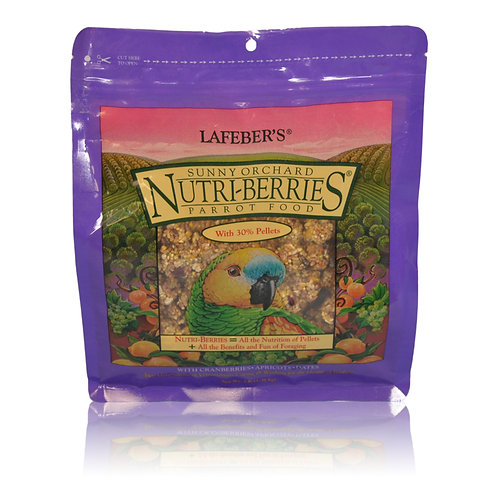 Nutri-Berries Sunny Orchard Parrot, 3 lb