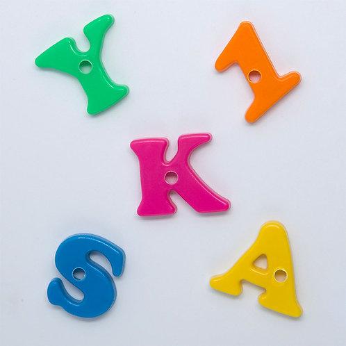 Plastic Letters, Large