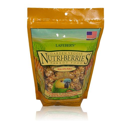 Nutri-Berries Garden Veggie Parrot, 10 oz
