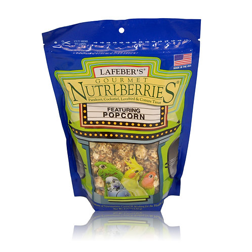 Nutri-Berries Popcorn Cockatiel, 4 oz