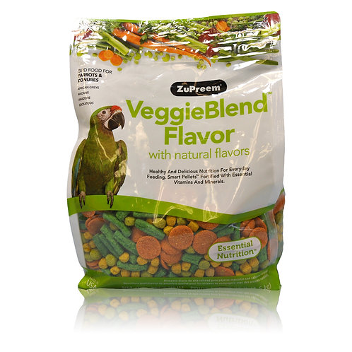 ZuPreem VeggieBlend, 3.25 lb