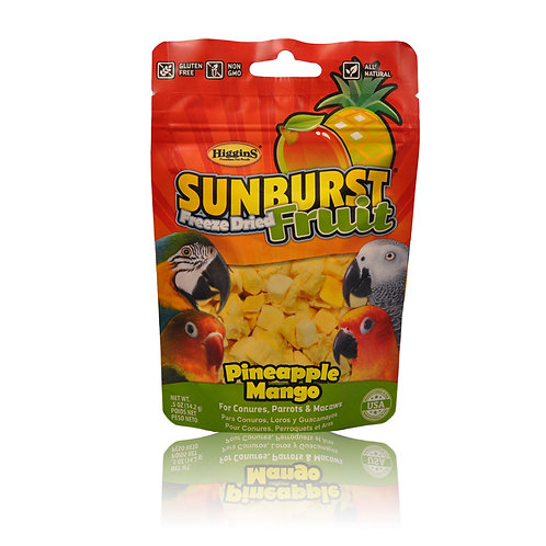 Sunburst Freeze Dried Pineapple Mango, 5 oz