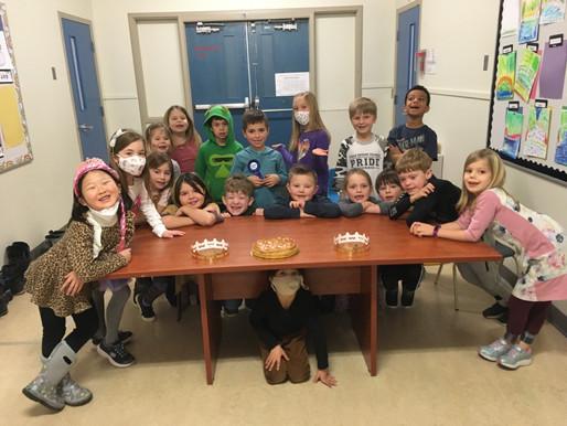 Une tradition française célébrée à l'école George Pringle!