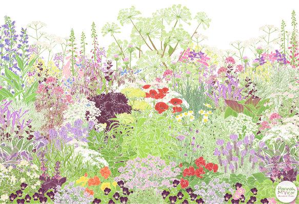 'Jekka's Herb Garden'