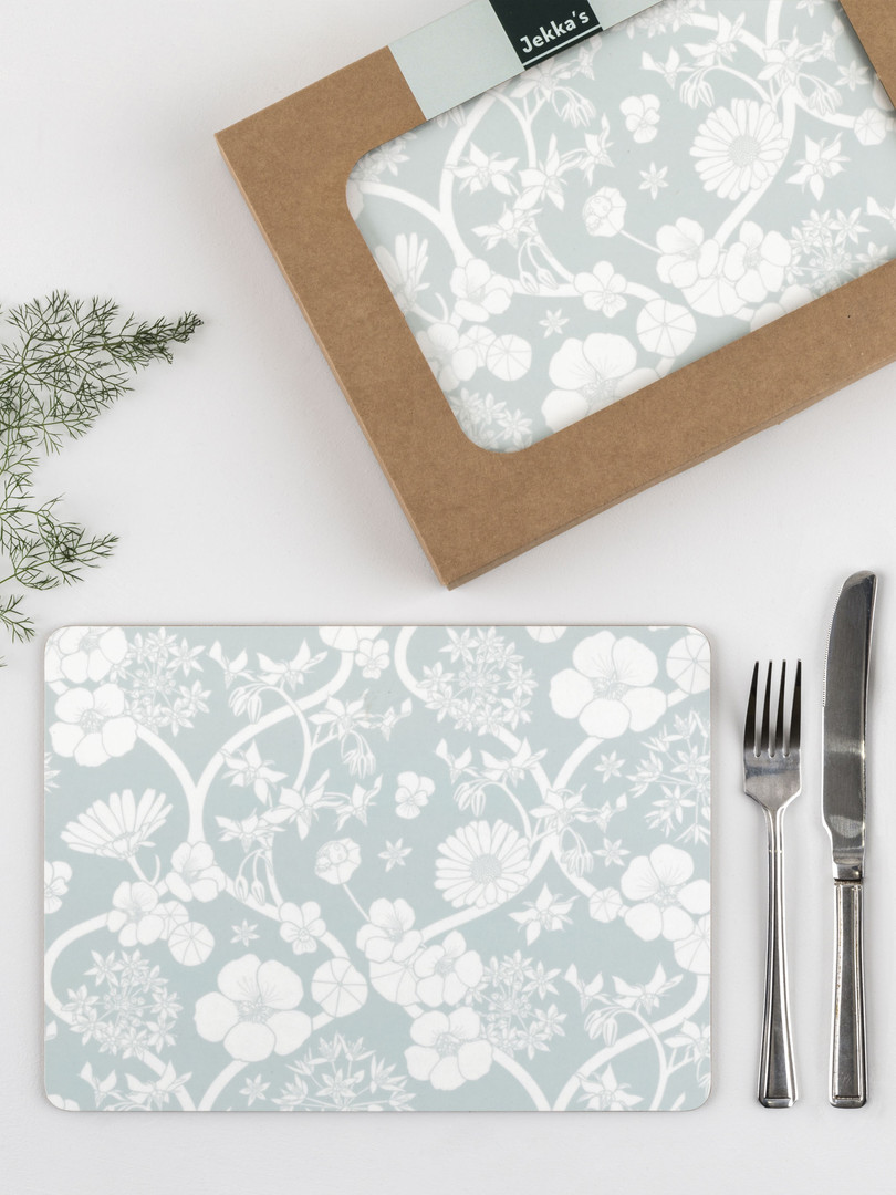 Jekka's Edible Flower Placemat