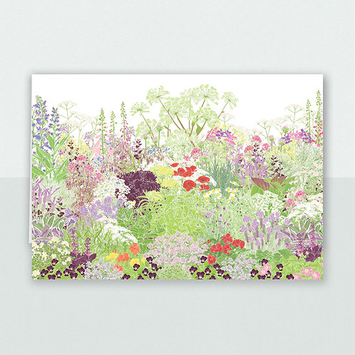 Jekka's Herb Garden, Greeting Card