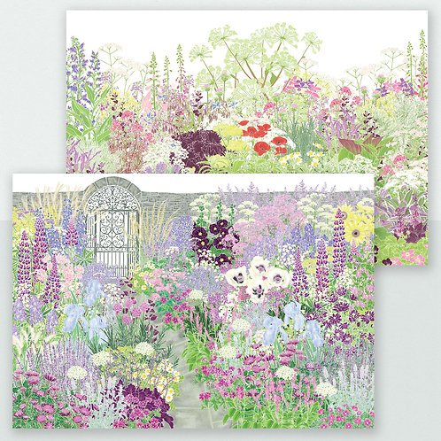 Hannah's Garden Set, 6 Greeting Cards