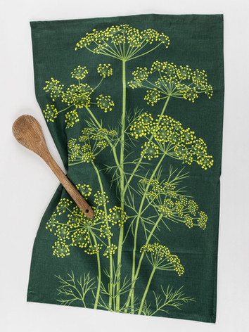 Jekka's Dill Tea Towel