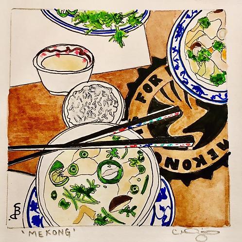 Artist, Carlie Dietz - Mekong - I am so Hungry