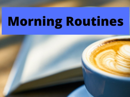 Make a morning routine work for you