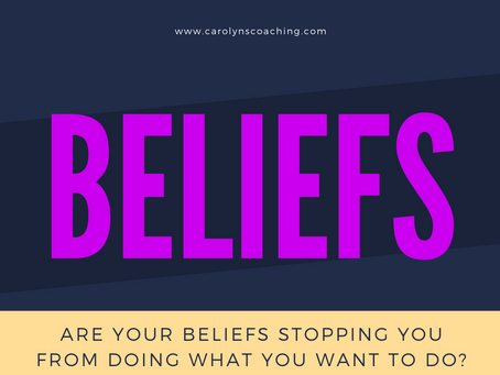 Discover four common limiting beliefs