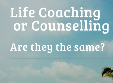 Life coaching or counselling, is there a difference?