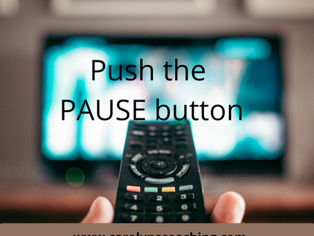 Press the PAUSE BUTTON