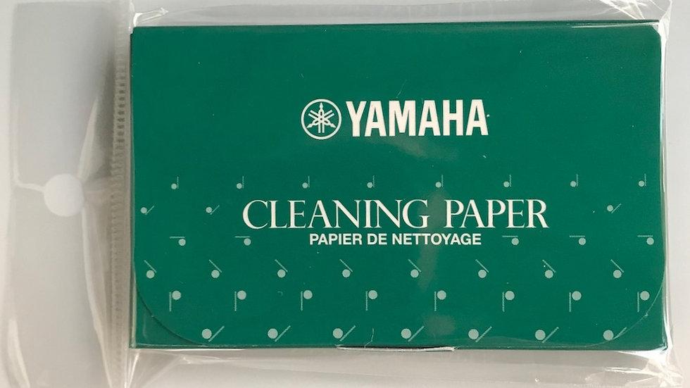 Papel para limpeza de sapatilha