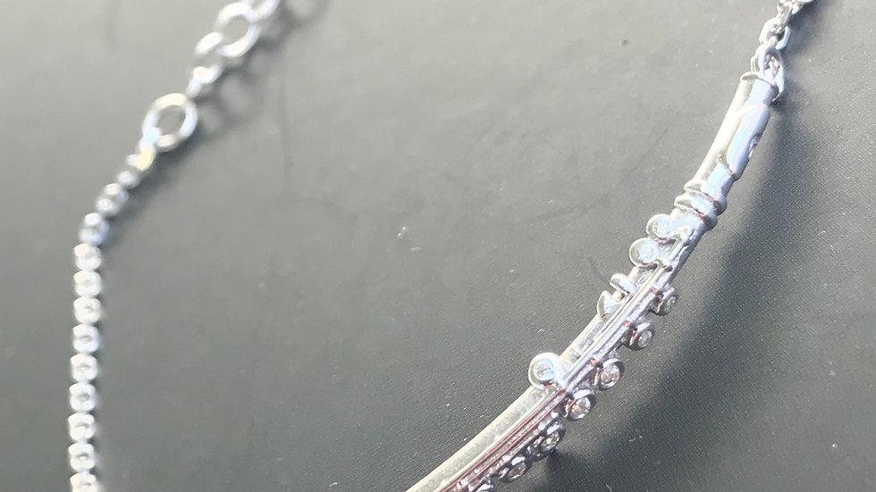 Pulseira de prata Song - jóia