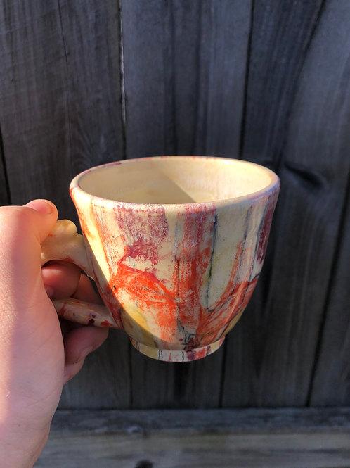 Red arches mug