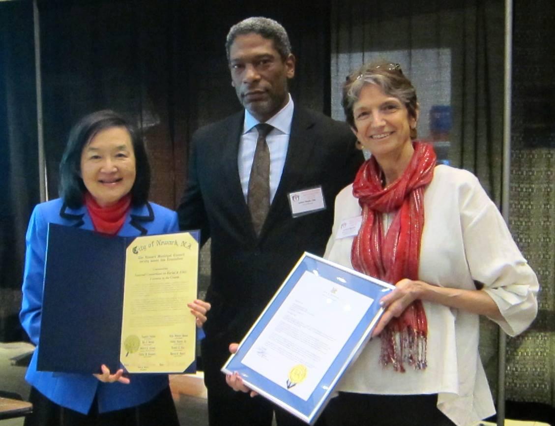 Presentation of Newark Proclamation