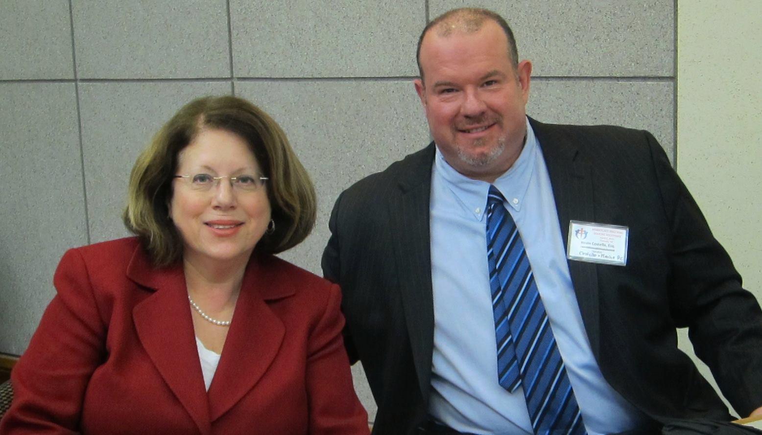 Senator Greenstein & Kevin Costello