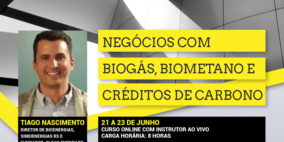 NEGÓCIOS COM BIOGÁS, BIOMETANO E CRÉDITOS DE CARBONO