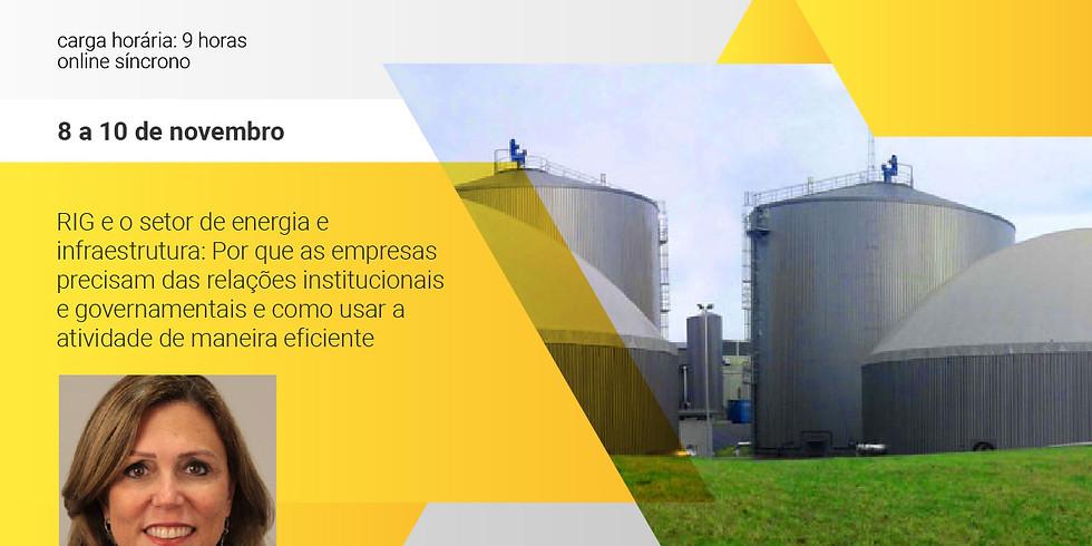 Relações Institucionais E Governamentais Nos Setores De Energia E Infraestrutura