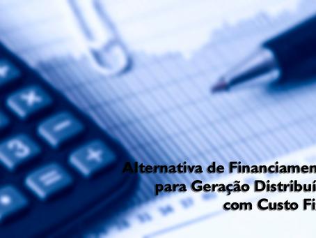 Alternativa de Financiamento para Geração Distribuída com Custo Fixo
