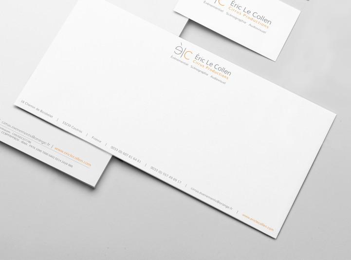 Carte de correspondance