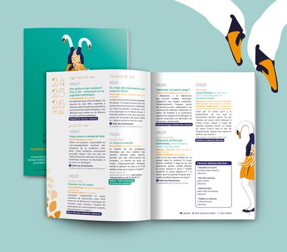 Programme (Livret 16 pages - A5)