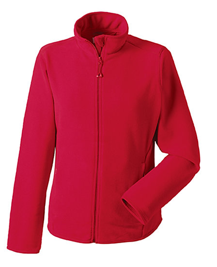 Ladies Russell Fitted Full Zip Microfleece