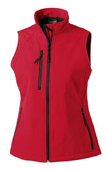 Russell Ladies Soft Shell Waterproof Gilet