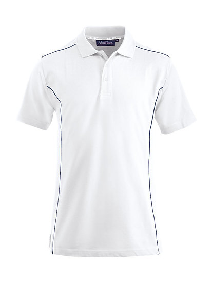 Mens conway contrast polo