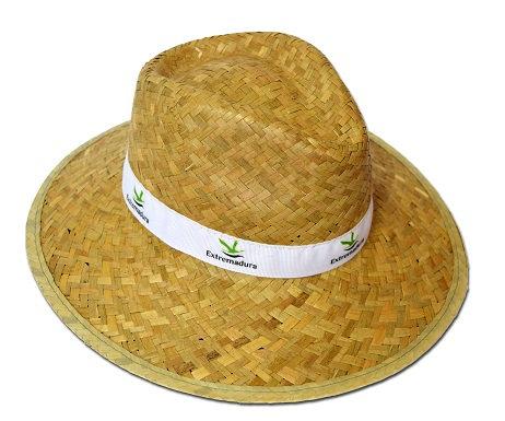 BRANDED STRAW HATS