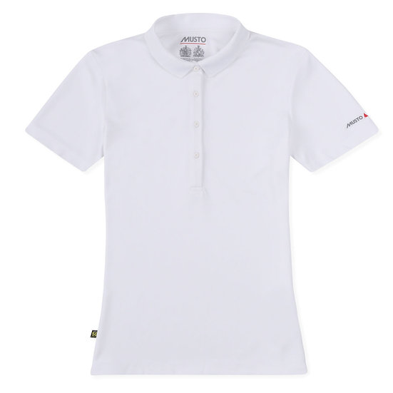 MUSTO SUNSHIELD LADIES UPF30 SHORT SLEEVE POLO