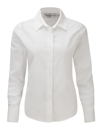 Ladies Russell Long Sleeve Classic Twill Shirt