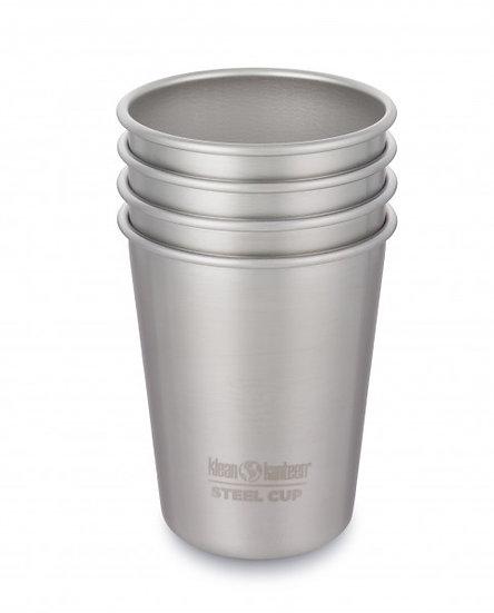 Klean Kanteen Steel Cup 10oz (295ml) - 4 Pack