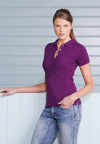 Womans Stretch Polo
