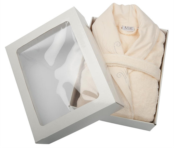 A&R™ Bathrobe Presidential DELUXE with Swarovski stones