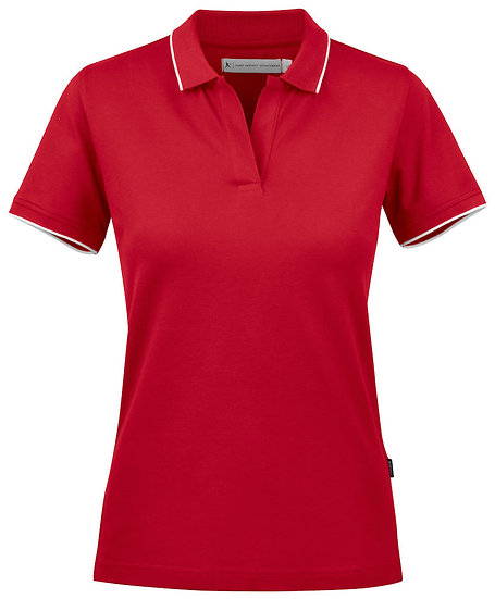 WOMANS GREENVILLE CONTRAST POLO
