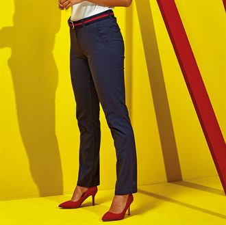 LADIES STRETCH CHINO ASQUITH&FOX
