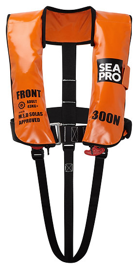 300N SEAPRO SOLAS LIFEJACKET