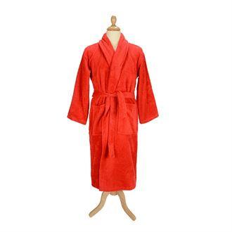 A&R™ Bath robe with shawl collar soft turkish cotton