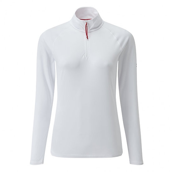 GILL WOMANS UV TEC LONG SLEEVE ZIP TEE