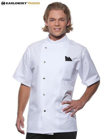 CHEF JACKET SHORT SLEEVE