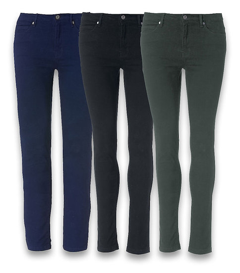 WOMANS 5 POCKET STRETCH TROUSER CLIQUE