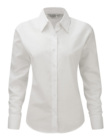 Ladies Russell Easy Care Oxford Blouse
